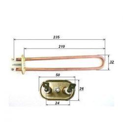Fűtőbetét bojler Hajdu     800W K. (Q)