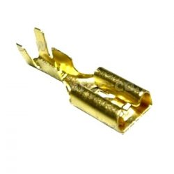 Kábelsaru 4,8mm (hüvely)  100db/cs. (Q)