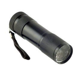 UV Lámpa 9 led, elemes ZH13201