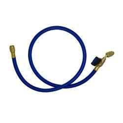 Töltőcső csappal   900mm kék VRP-C
