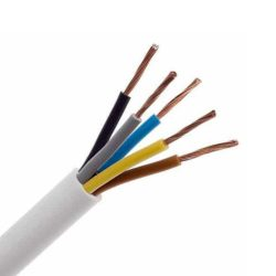 MT 5x1,5mm2  szigetelt sodrott réz kábel H05VV-F